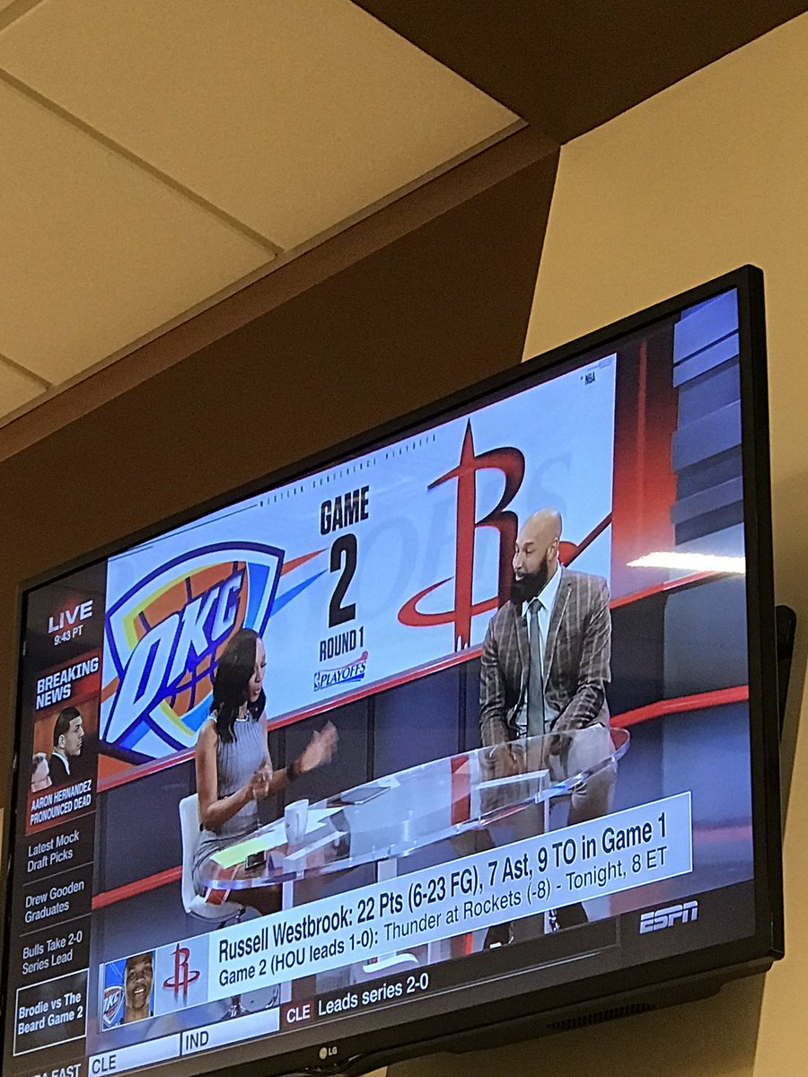 The #midrange GOAT on tv. @DrewGooden #swag #graduate #hashtag #juwannaman