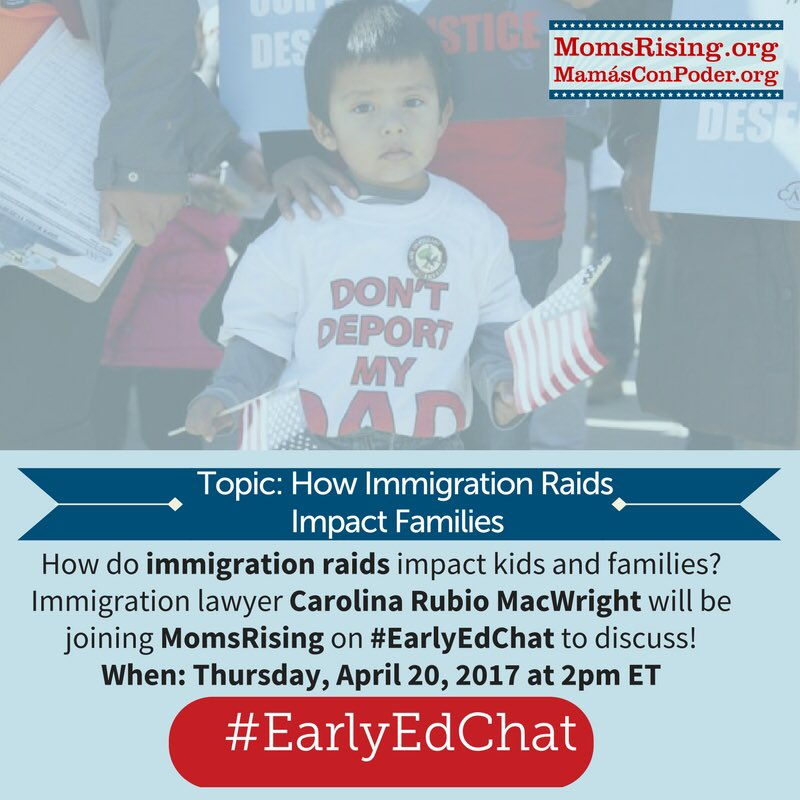 Thumbnail for #EarlyEdChat April 20, 2017 with Carolina Rubio MacWright