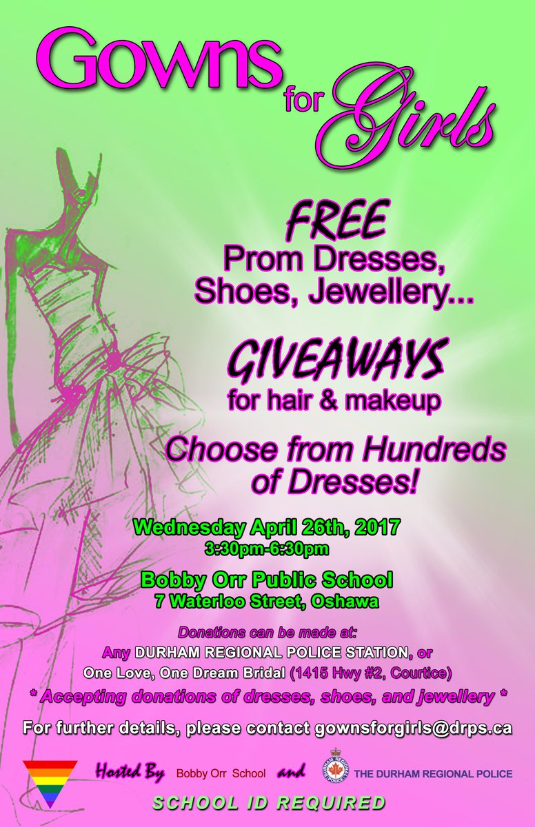 A friendly reminder that the 4th annual Gowns for Girls event takes pl...
