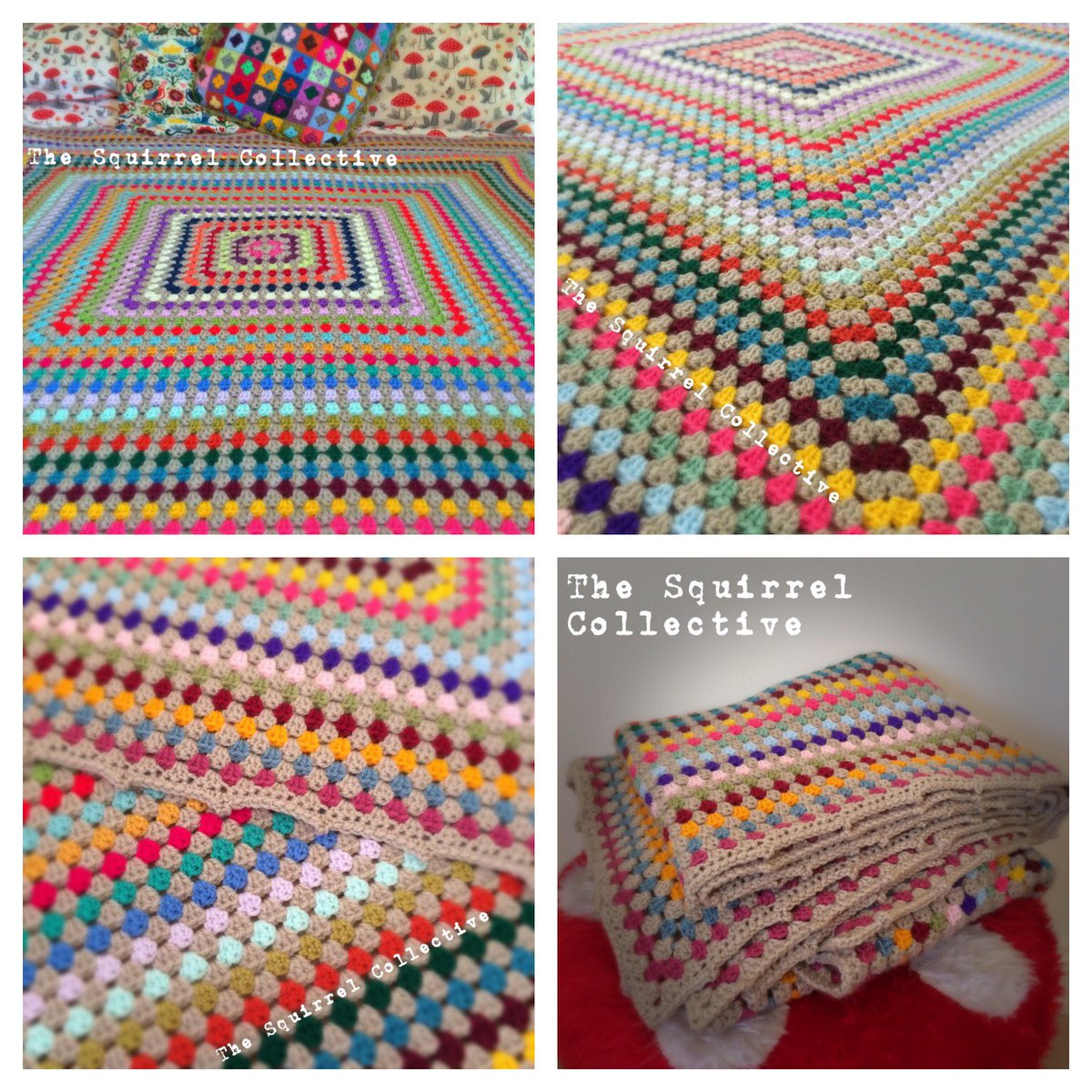The giant #rainbow Joseph #blanket:  https://www. facebook.com/TheSquirrelCol lective/posts/1764241113905823:0 &nbsp; …  #HandmadeHour #crochet #vintagestyle #retrostyle #handmadehome #WAHM #handmade<br>http://pic.twitter.com/Jyo9pL6v8y