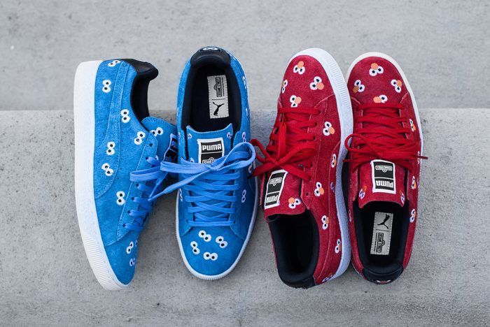 UNDER RETAIL!!  20% OFF the Sesame Street x PUMA Suede Pack  Discount...
