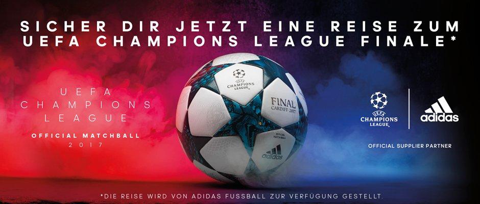 Wir verlosen 2 Karten für das UEFA Champions League Finale!   https://t.co/NGuI1ByINV  #UCL #RoadToCardiff #Gewinnspiel #NeverFollow #adidas https://t.co/m4asB8dNYL