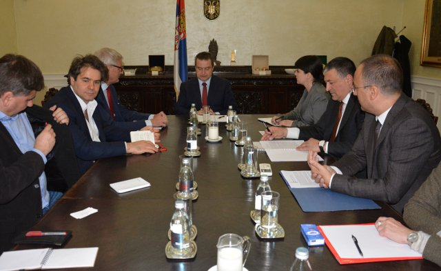 Serbian FM receives ECFR delegation, reiterates his country's strategic commitment to EU