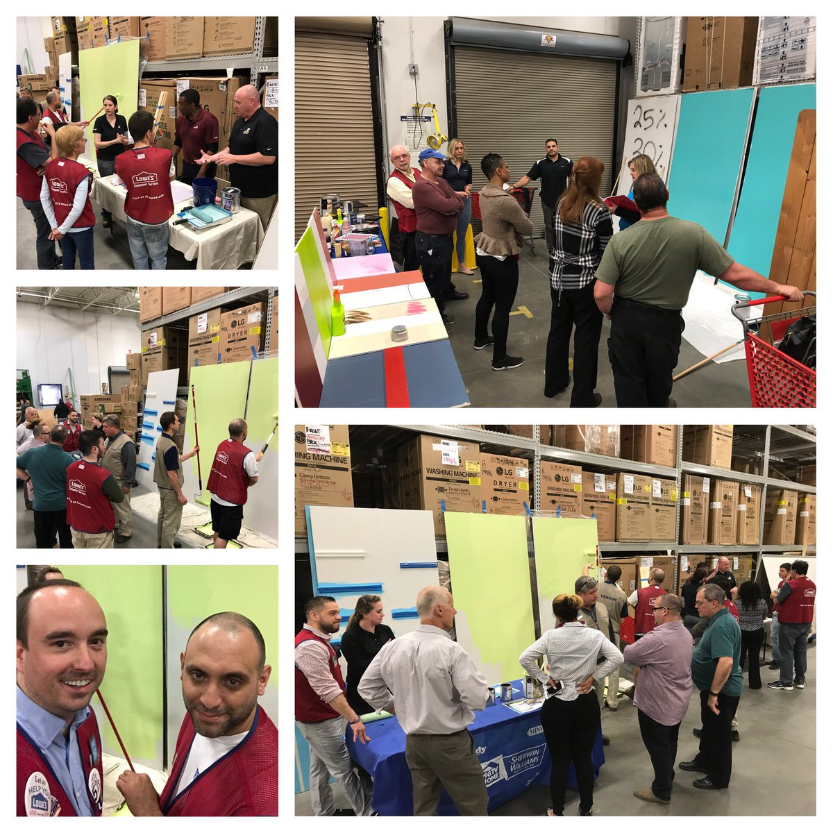 minela sljivo minelasljivo twitter q1 paint experience training in 1597 market 1230 getting all the product knowledge to wintheseason valspar paint sherwinwilliamspic twitter com