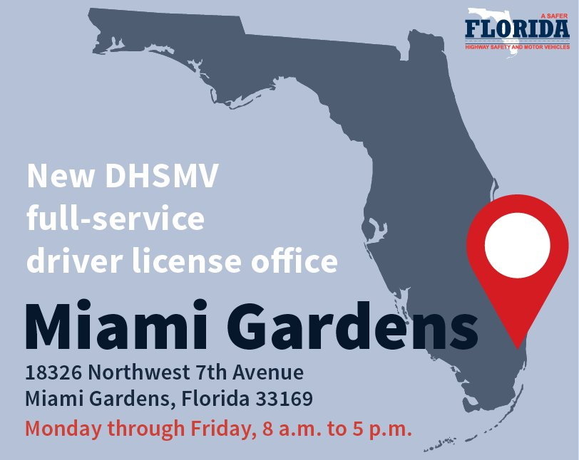 C9yX3mWXkAA0uRs - Florida Highway Safety And Motor Vehicles Miami Gardens Fl 33169