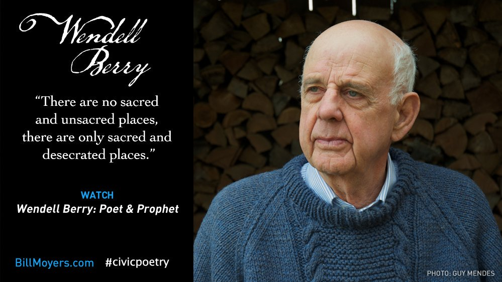 essays by wendell berry Waste wendell berry as a country person, i often feel that i am on the bottom end of the waste problem i live on the kentucky river.