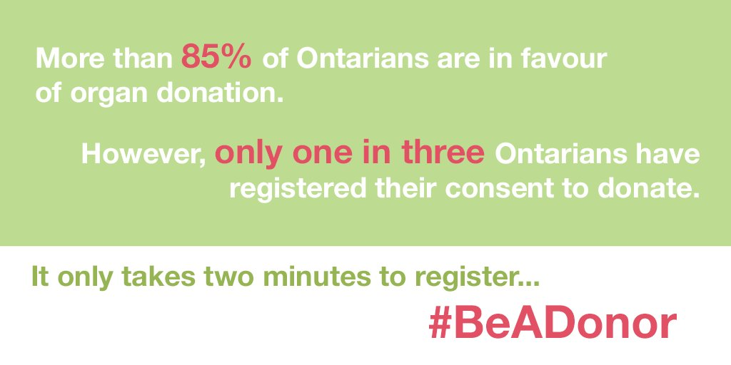 April is #OrganDonorMonth. It's simple and easy to #beadonor. Register...