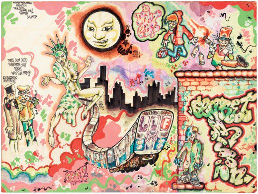 An oldie but a goodie, City As Canvas: The Martin Wong Collection of #NewYork #Graffiti  https://t.co/JlQ6fWyFjs