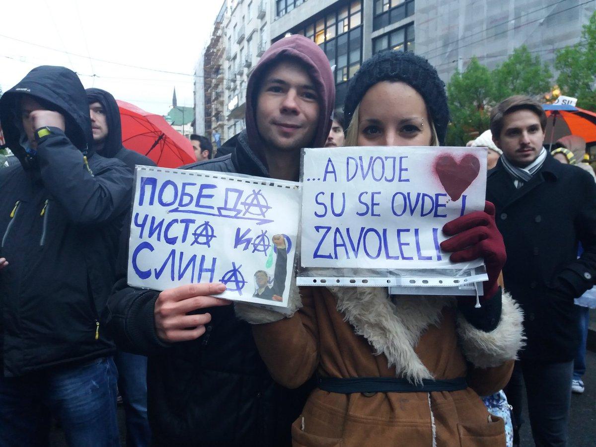 Protest against dictatorship tonight in Belgrade