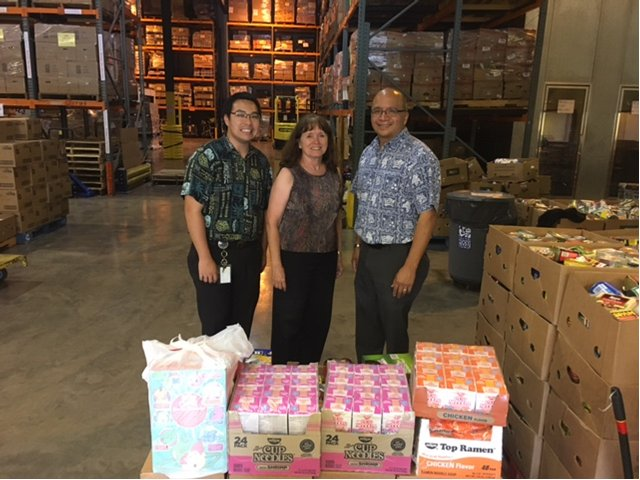 Surpassed our goal & donated 267 lbs of food to @hawaiifoodbank. Mahalo to Connie Bennett & Kim Bartenstein. #ceridianhawaii50 https://t.co/3BaHcHHcMK