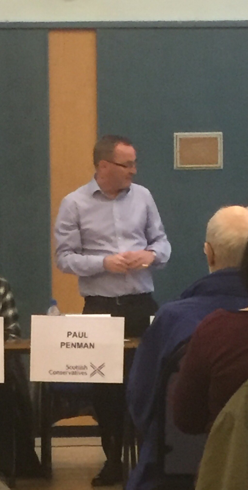 Fourth and final candidate to introduce themself is @Penmanshiel #LeithHustings #Leith https://t.co/6gbLnL04K3
