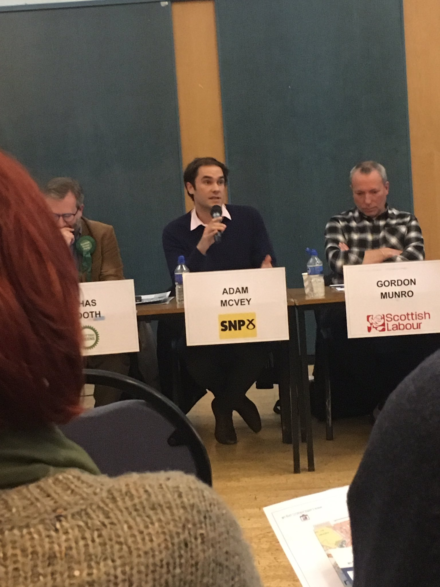 """Well, Adam McVey is correct on trams here """"the SNP have an interesting track record on trams..."""" #leithhustings https://t.co/XZG3XmlYaM"""