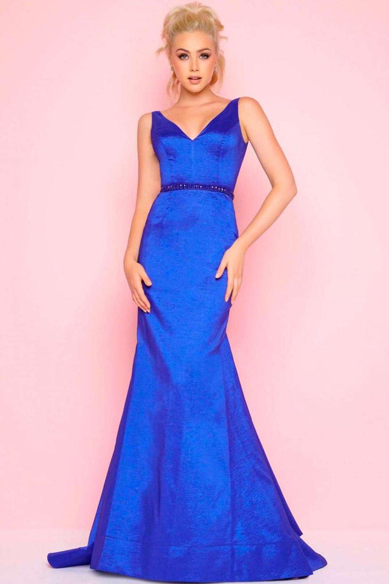Lujo Azul Vestido De Cobalto Galería - Ideas de Vestido para La ...