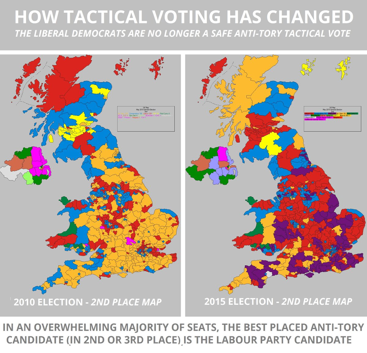 Map Of Uk Votes 2015.Tory Fibs On Twitter Want To Vote Tactically In England This