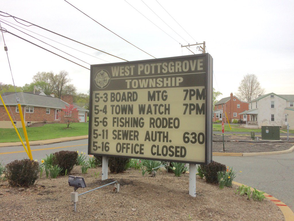 Tweeting from West Pottsgrove Commissioners. Follow along here https://t.co/mYBJadespF