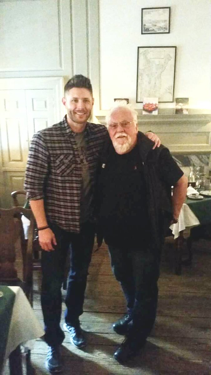 Jensen Ackles On Twitter Rare Pic Of Jensenackles W Chef Walter