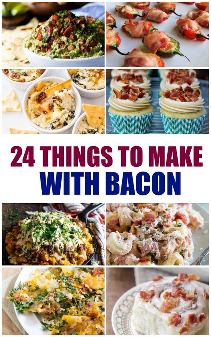 24 Things to Make with Bacon