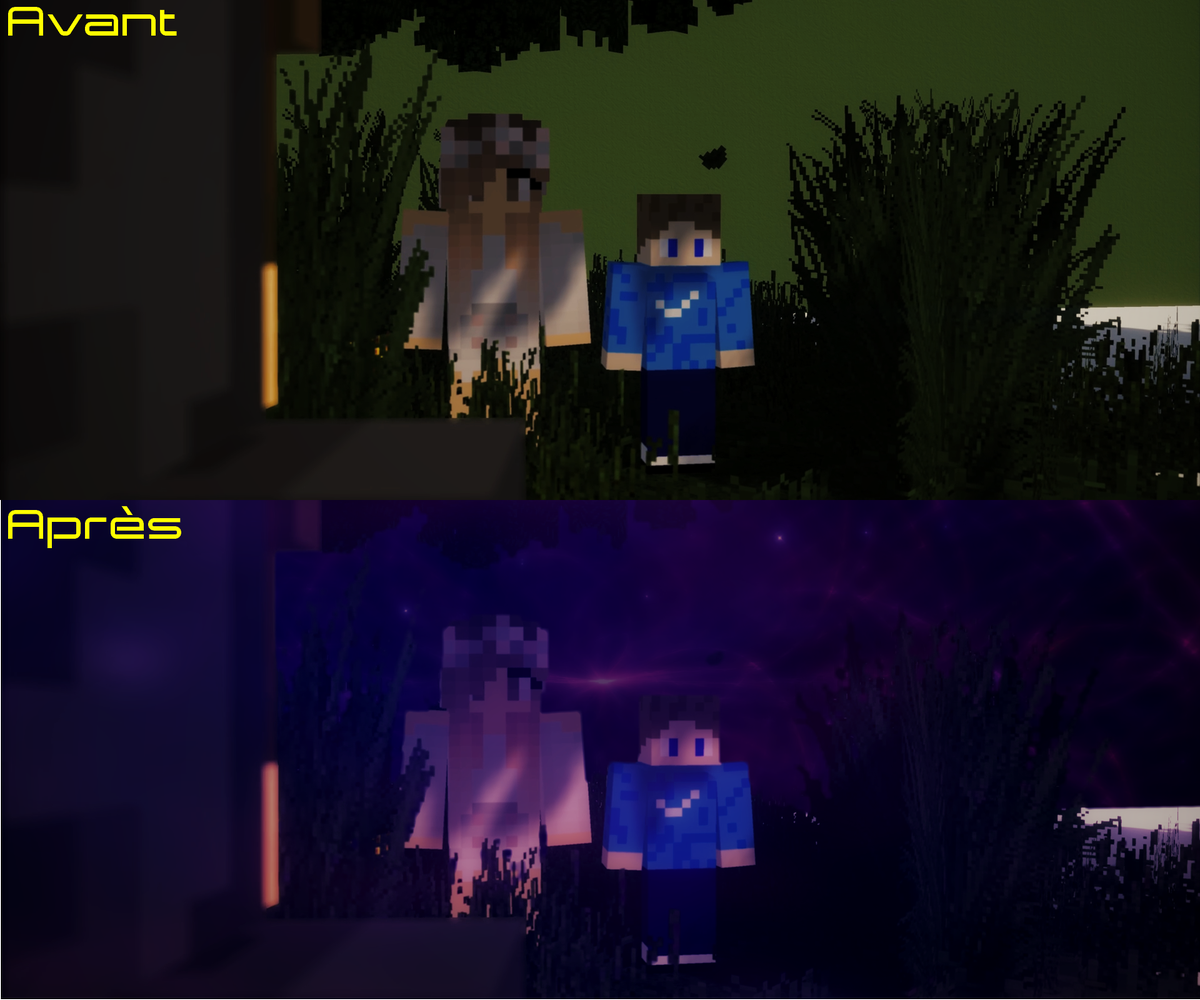 """""""Nous étions si bien..."""" #Unknown #21avril #Minecraftpic.twitter.com/nd1WijNEao"""