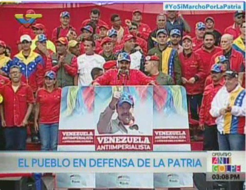 Maduro: one day we will witness the fall of the Colombian oligarchy.
