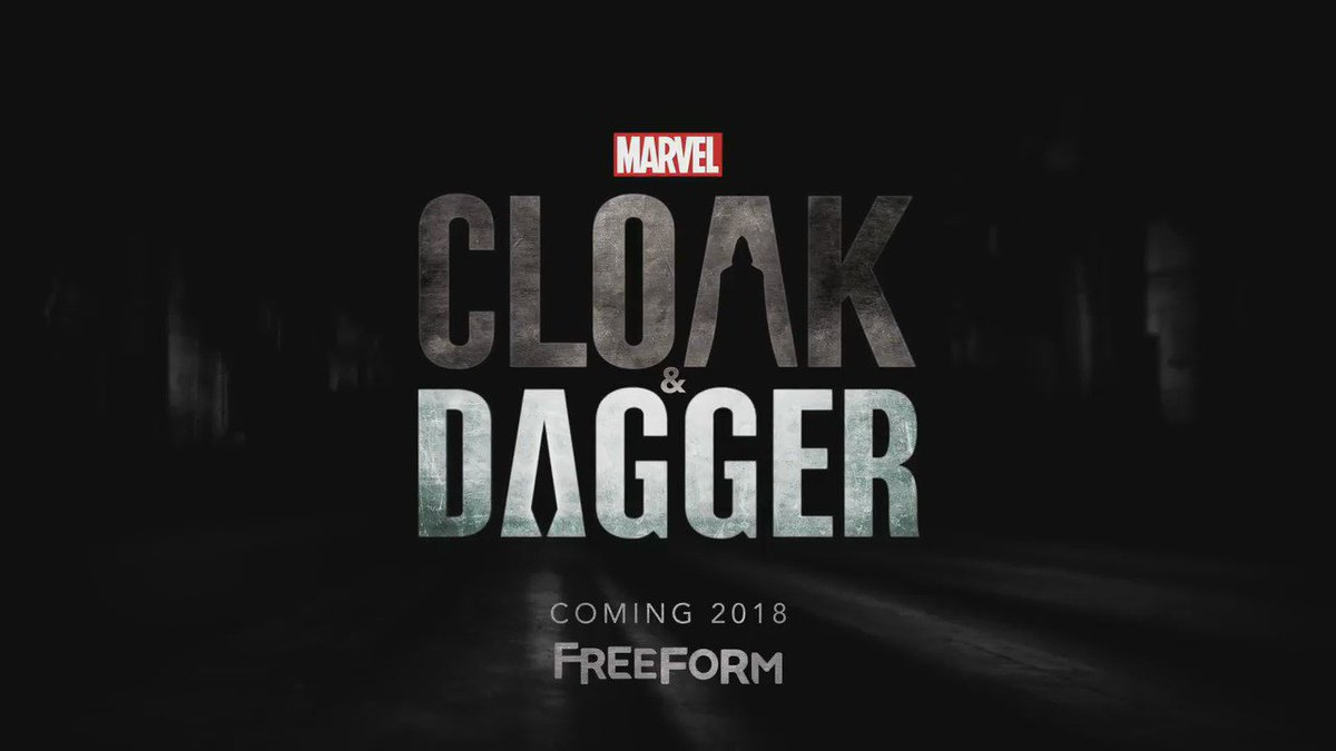 It's here! Watch the official trailer for 'Marvel's @CloakandDagger,' coming to @FreeformTV in 2018.