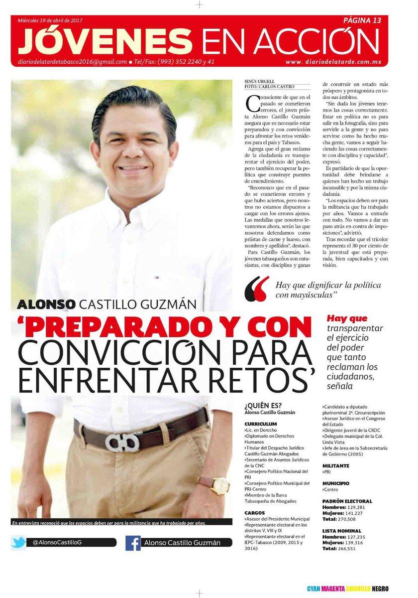 Agradezco al @Diariodelatarde por la oportunidad de intercambiar conceptos. Les comparto mi entrevista. Ojalá puedan leerla.