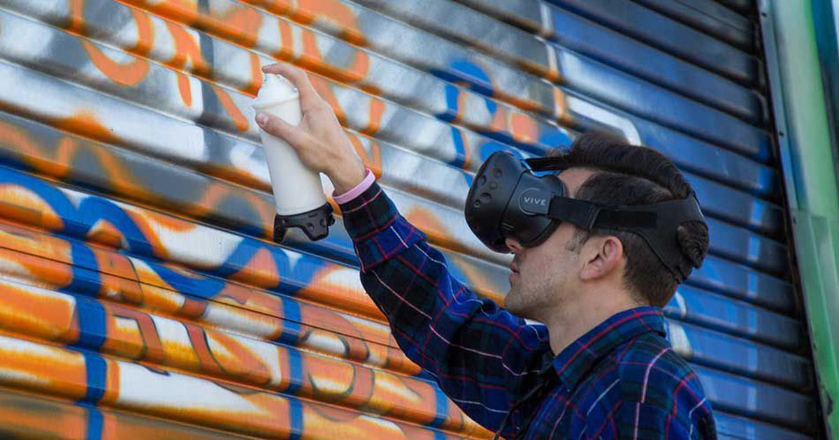 Graffiti your heart out without fear of arrest with this VR hack
