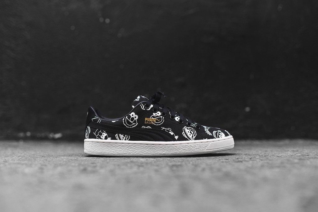#ALLKIX Puma x Sesame Street Basket - Black https://t.co/PyYy6omdJl