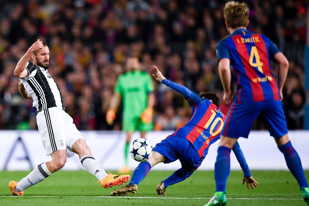 Juventus in semifinale Champions: 0-0 a Barcellona