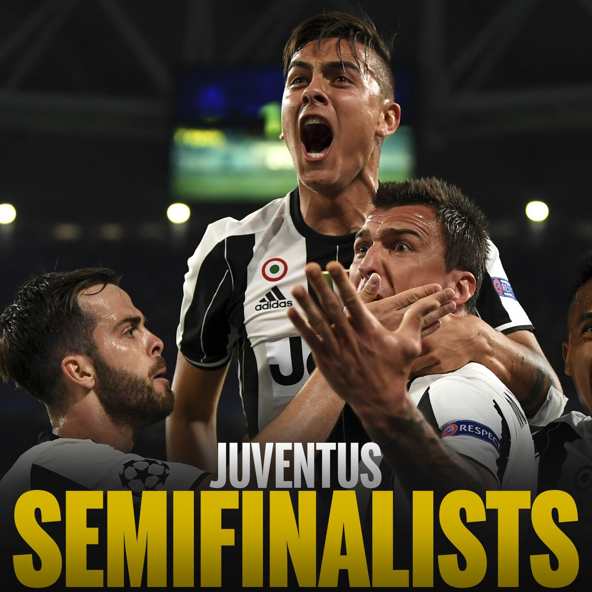 Juventus knock Barcelona out of the Champions League! They reach their seventh #UCL semifinal, the most by an Italian club! <br>http://pic.twitter.com/KSRqyfLW8E