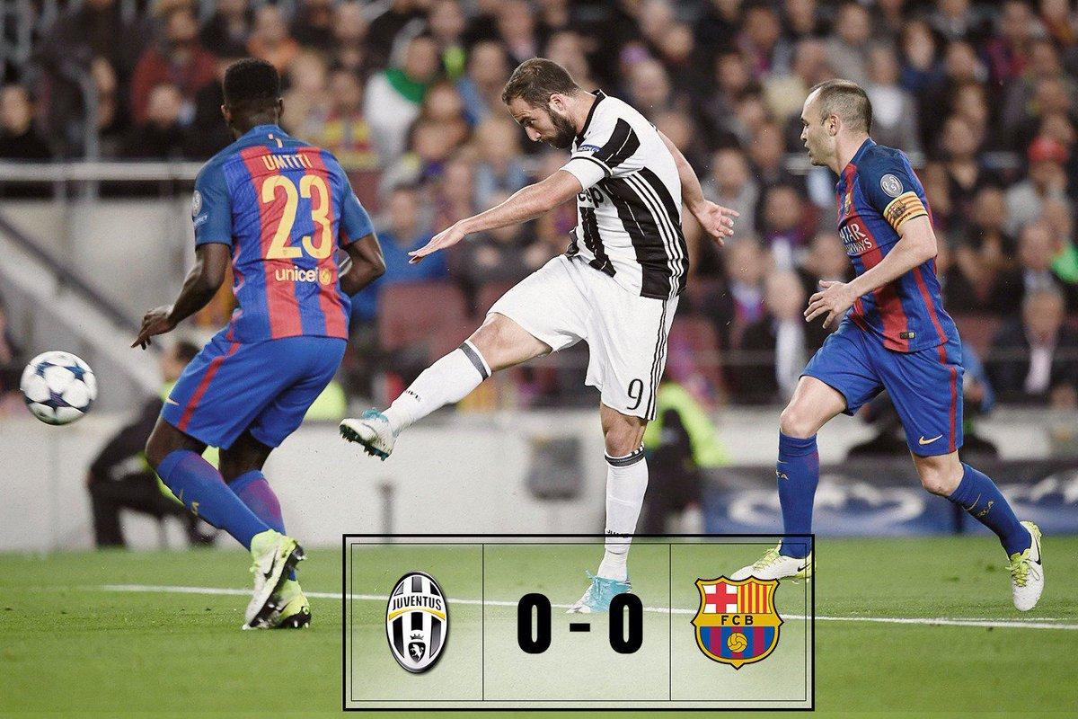 Champions: la Juventus è in semifinale, uscita indenne contro il Barcellona