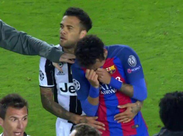 Congratulations Juve  Hard luck for Barcelona &amp; Neymar  #FCBJuve #ChampionsLeague #Barca #ForcaBarca  #UCL #juventus #FINOALLAFINE #ItsTime<br>http://pic.twitter.com/dNeWYI1D3N