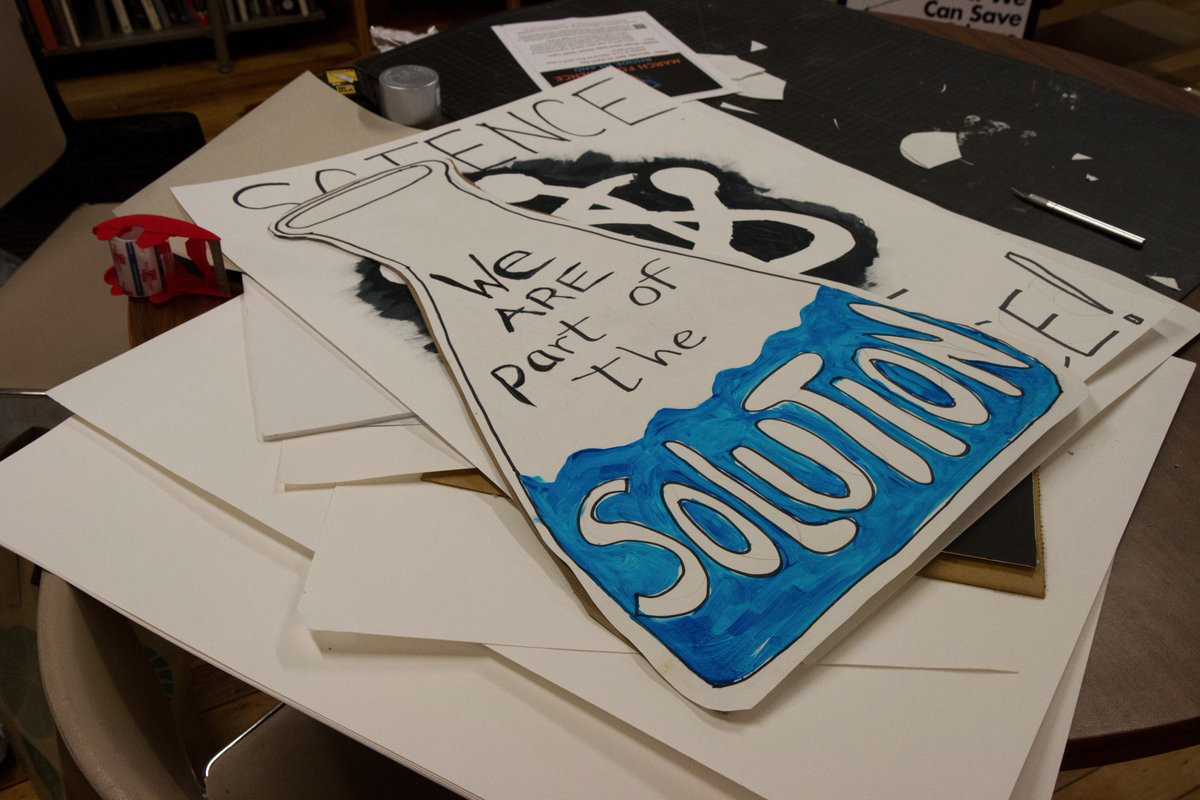 making a science poster
