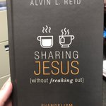 Thanks for the book @alvinreid and @BHAcademic. Looking forward to reading over a cup of coffee. Love the Evangelism Catechism!