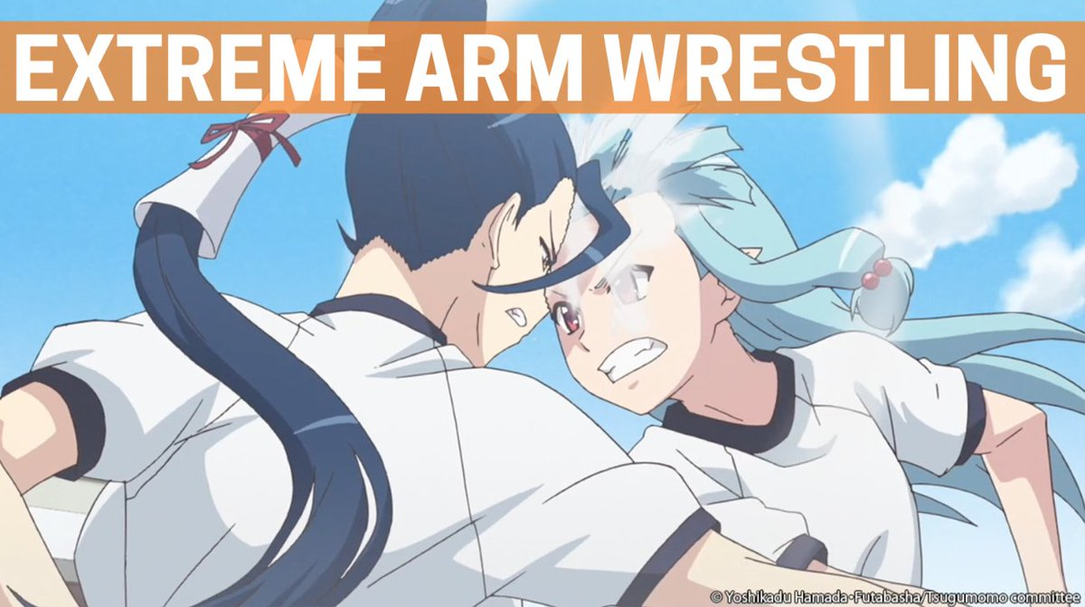 Crunchyroll on twitter extreme arm wrestling