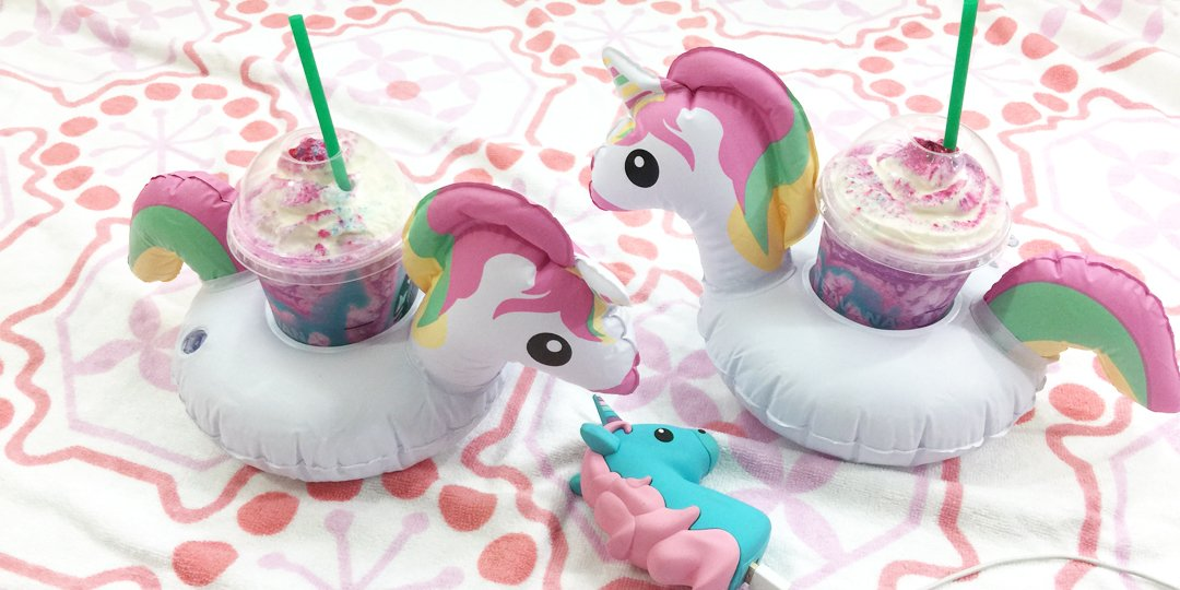 Pure magic.🦄 Thanks @starbucks! #unicornfrappuccino https://t.co/K5umo...