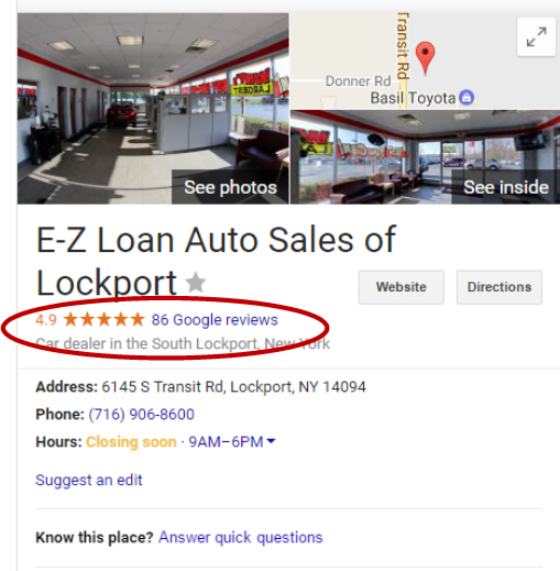 E Z Loan Auto Sales On Twitter Want To See What Our Customers Are
