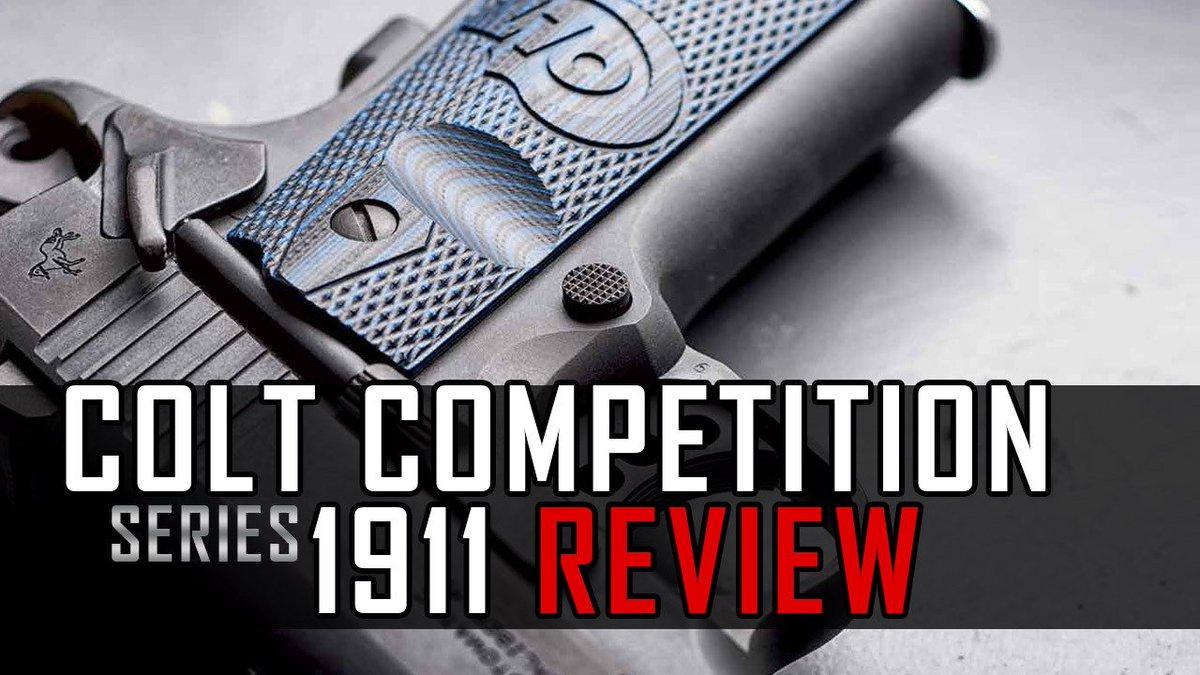Gun Review: Colt Competition Series 1911 Pistols https://t.co/Y8CzE284az @ColtFirearms #1911 https://t.co/ikHlfvcmhw