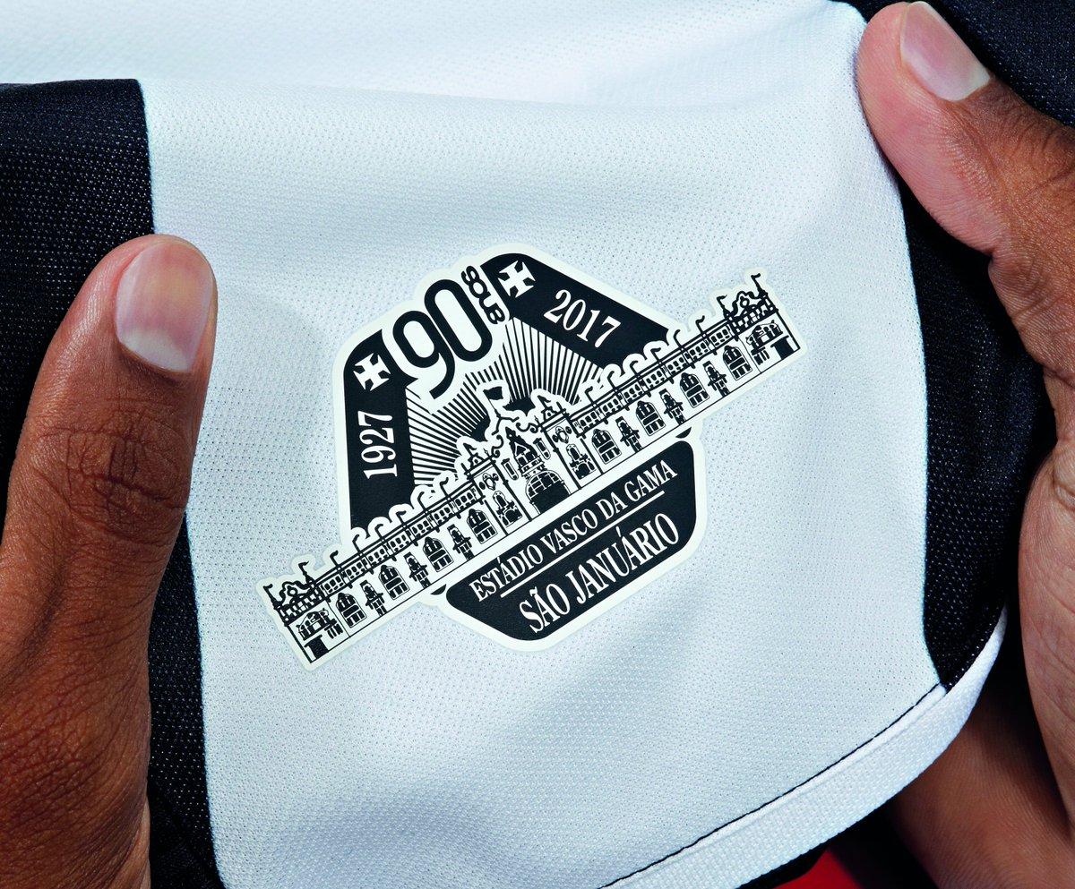 Vem aí as novas camisas do @vascodagama! Confira uma pequena amostra da nova camisa 1 do Vascão! #VascoeUmbro https://t.co/W94bgOI0aY