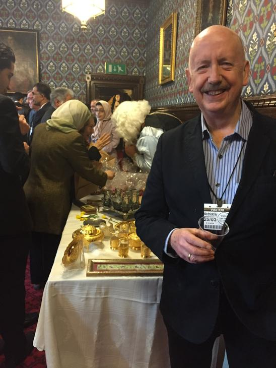Wonderful to be w @BHRC1 exec @BillBowring at Iranian celeb of New Year at Westminster Hall. Warm, welcoming people. http://t.co/3MumDkwjIk