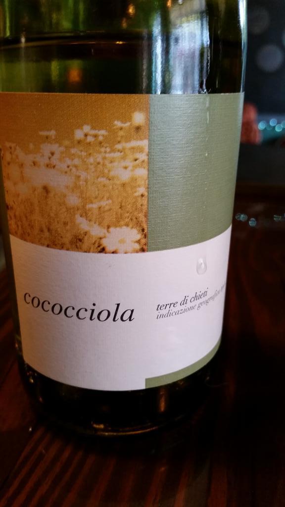 Unique grape experience of the day :  Cococciola http://t.co/9XcdJ15Xd3