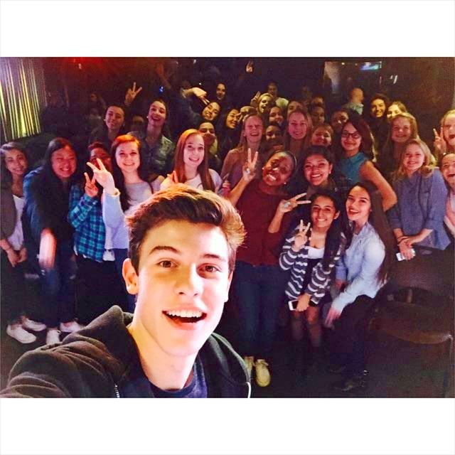 Thanks to @shawnmendes for coming in to hang with some of his biggest fans/friends! http://t.co/0Zv37Ezrqn http://t.co/ZY6TMcHaCl