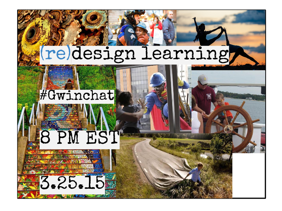 Here's a sneak peek of our images for (re)design learning on #Gwinchat tonight! Hope you'll join us at 8! http://t.co/7i4SfOP4Ff