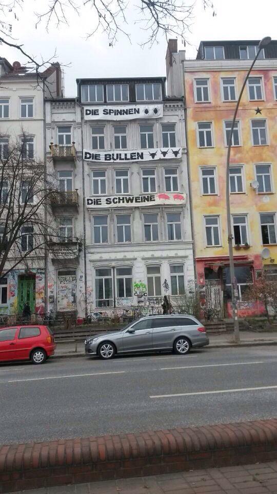 Hafenstrasse St.Pauli