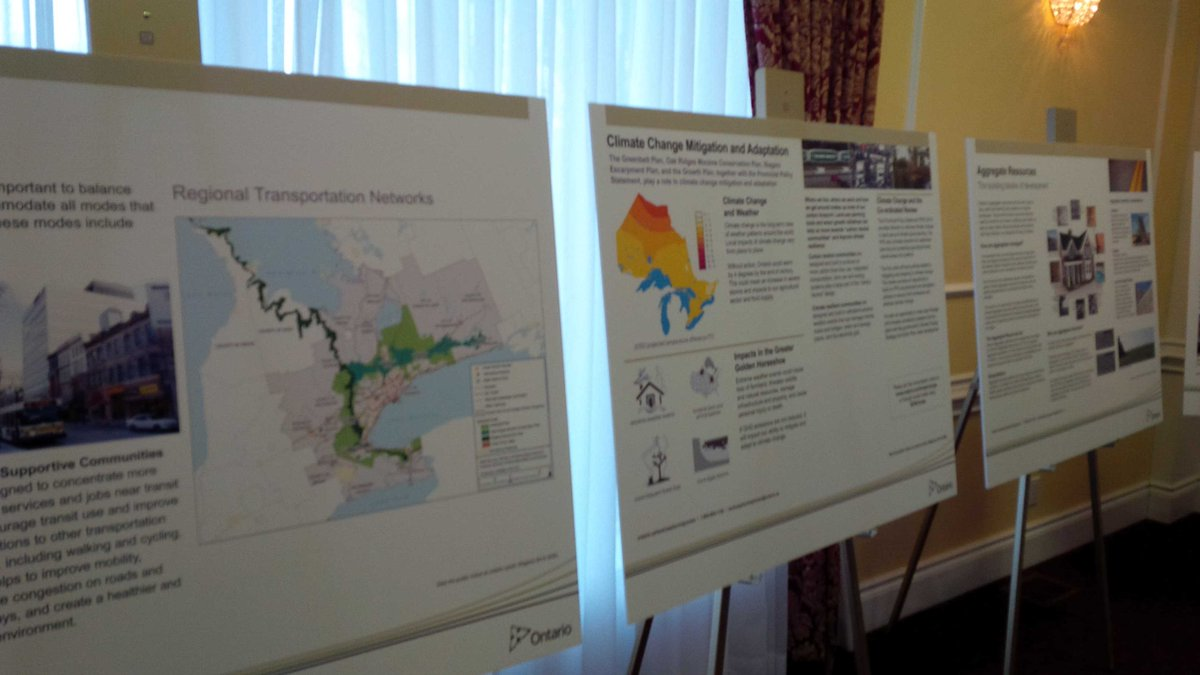 Open house for #landuseON consultation just getting started at Bingeman's. Lots of time to join us! http://t.co/spqlem08ZV