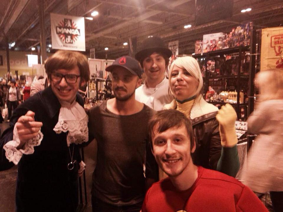 As a filmmaker I absolutely loved @TomFelton 's BBC3 documentary. Here I am as Austin Powers with the man himself. http://t.co/ufDwB1kNS5