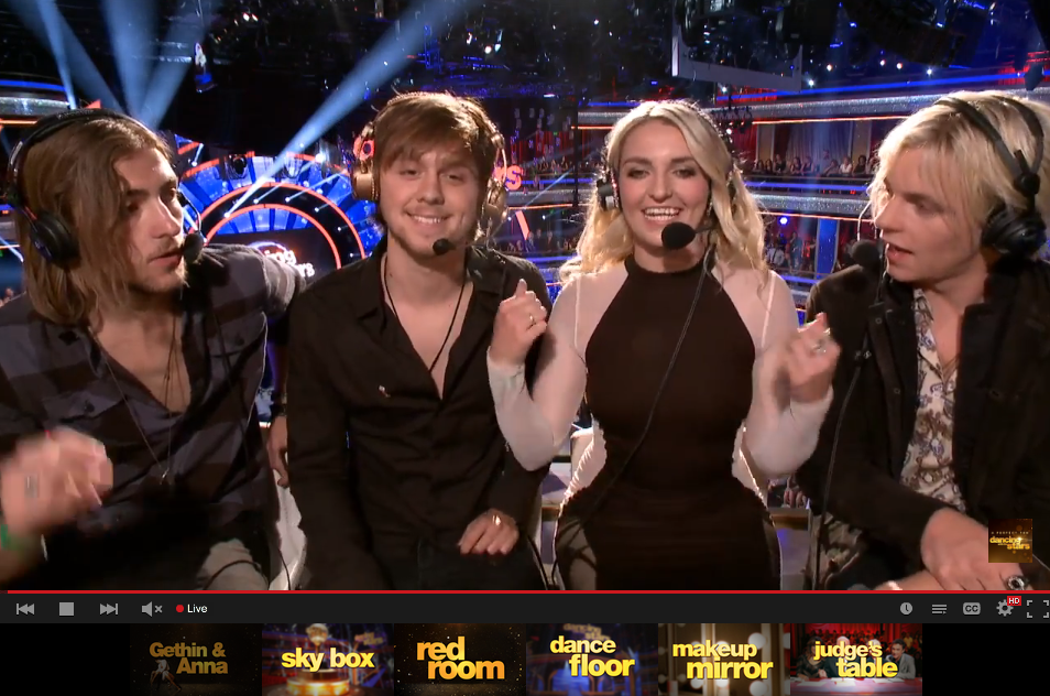 Dancing With The Stars On Twitter Catch R5 Officialr5 On