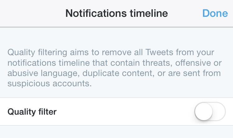 Twitter is testing a feature that removes threats and abuse from your timeline