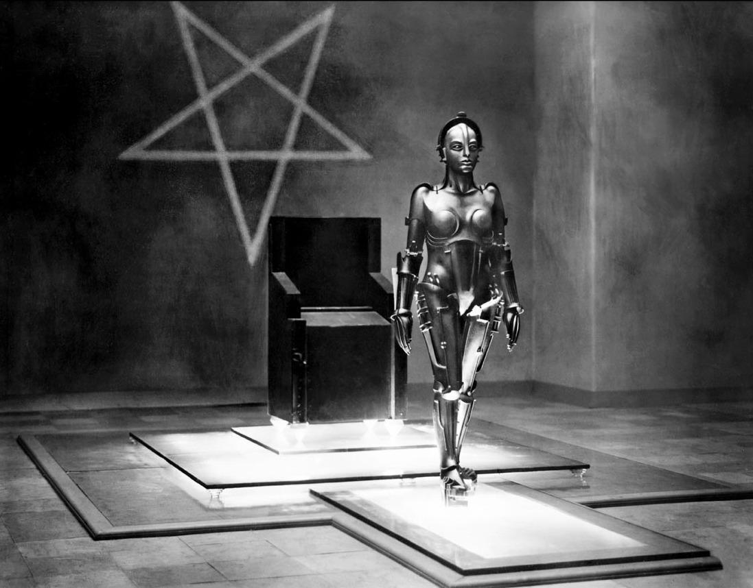 Metropolis, le mythique film de #SF de Fritz Lang sur @France2tv, NOW ! #cinema