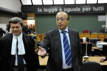 Cassazione processo Calciopoli Moggi e l'arbitro De Santis