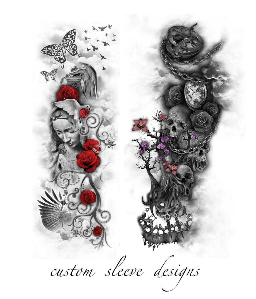 customtattoodesigns on twitter full sleeve designs. Black Bedroom Furniture Sets. Home Design Ideas
